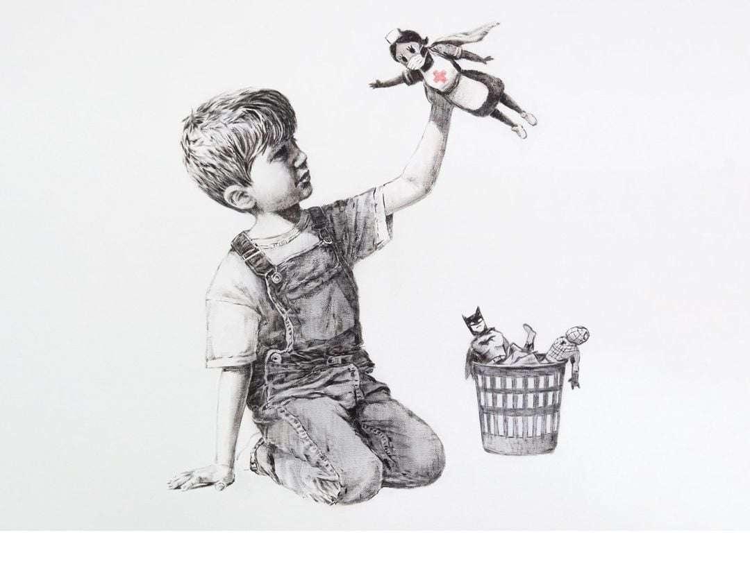 chłopiec - chłopiec bawiący się (5×4)