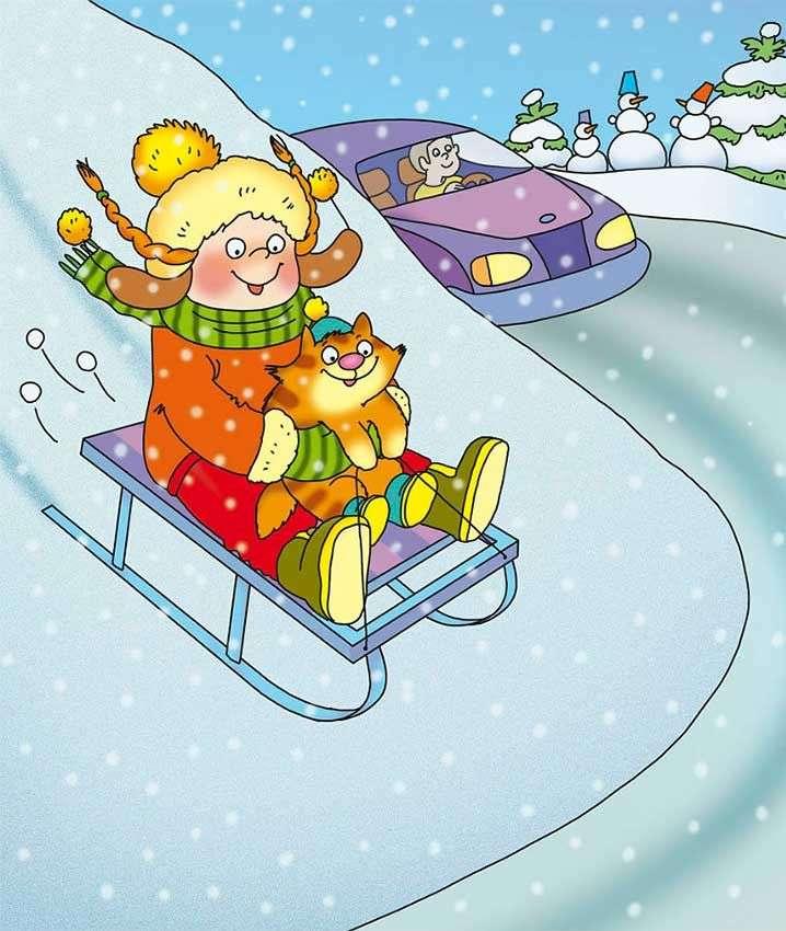 Jocurile copiilor iarna unde ne jucăm - Jocurile copiilor iarna-unde ne jucăm (11×14)