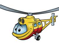 Puzzle helikopter