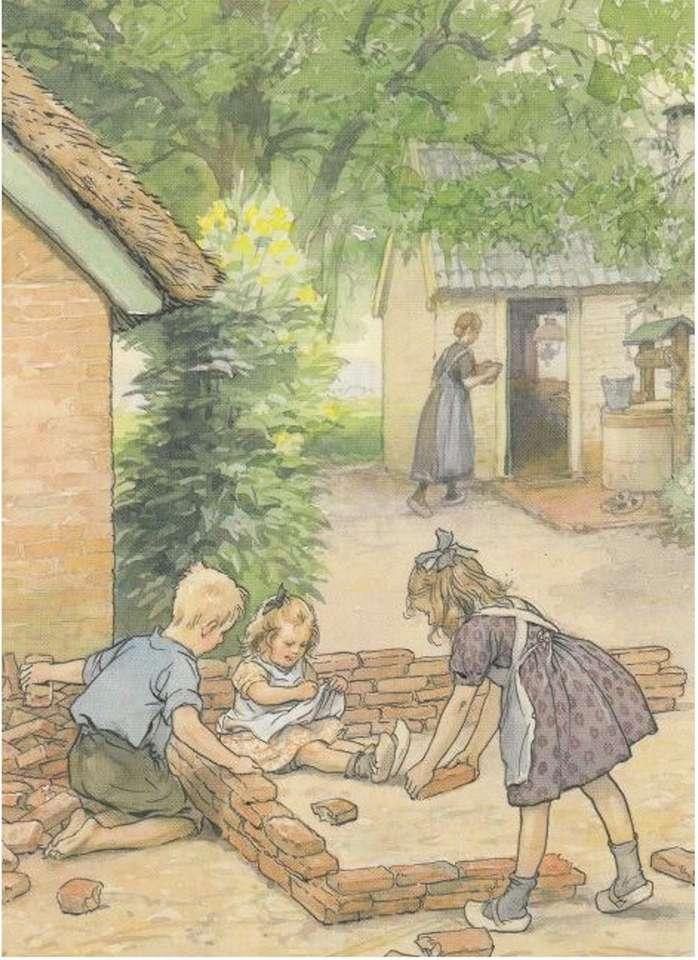když se děti učí stavět (14×20)