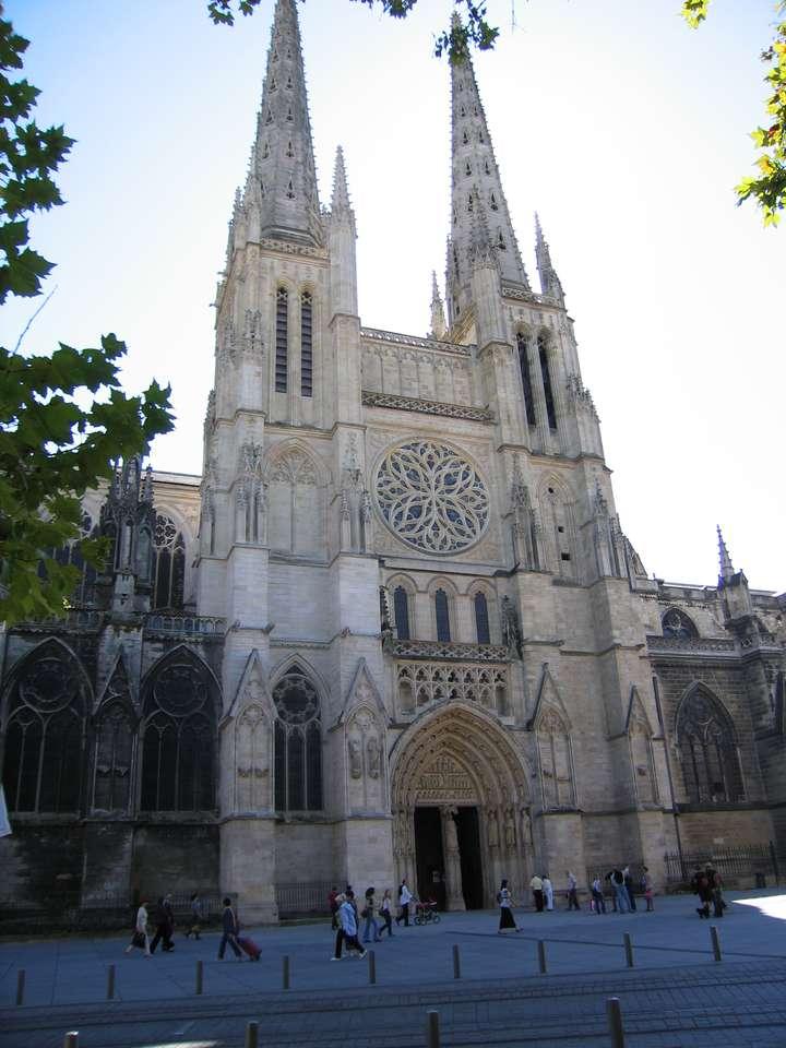 Saint André-katedralen - Bordeaux Saint André-katedralen (9×12)