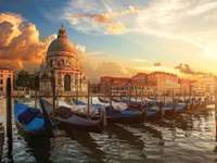 Italien - morgon