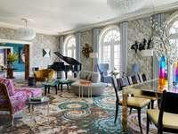 interiér vintage domů