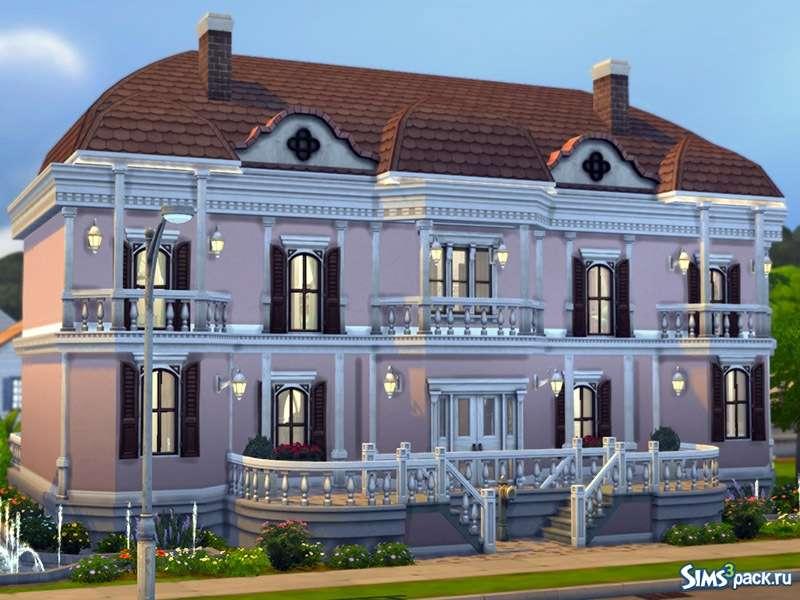 dům ve Vídni - m (13×10)
