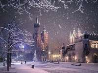 Winter Krakow.