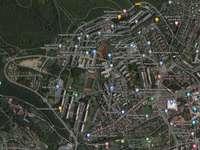 Mapa en Jirkov