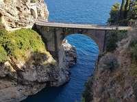 Fiordo di Furore Amalfské pobřeží Itálie
