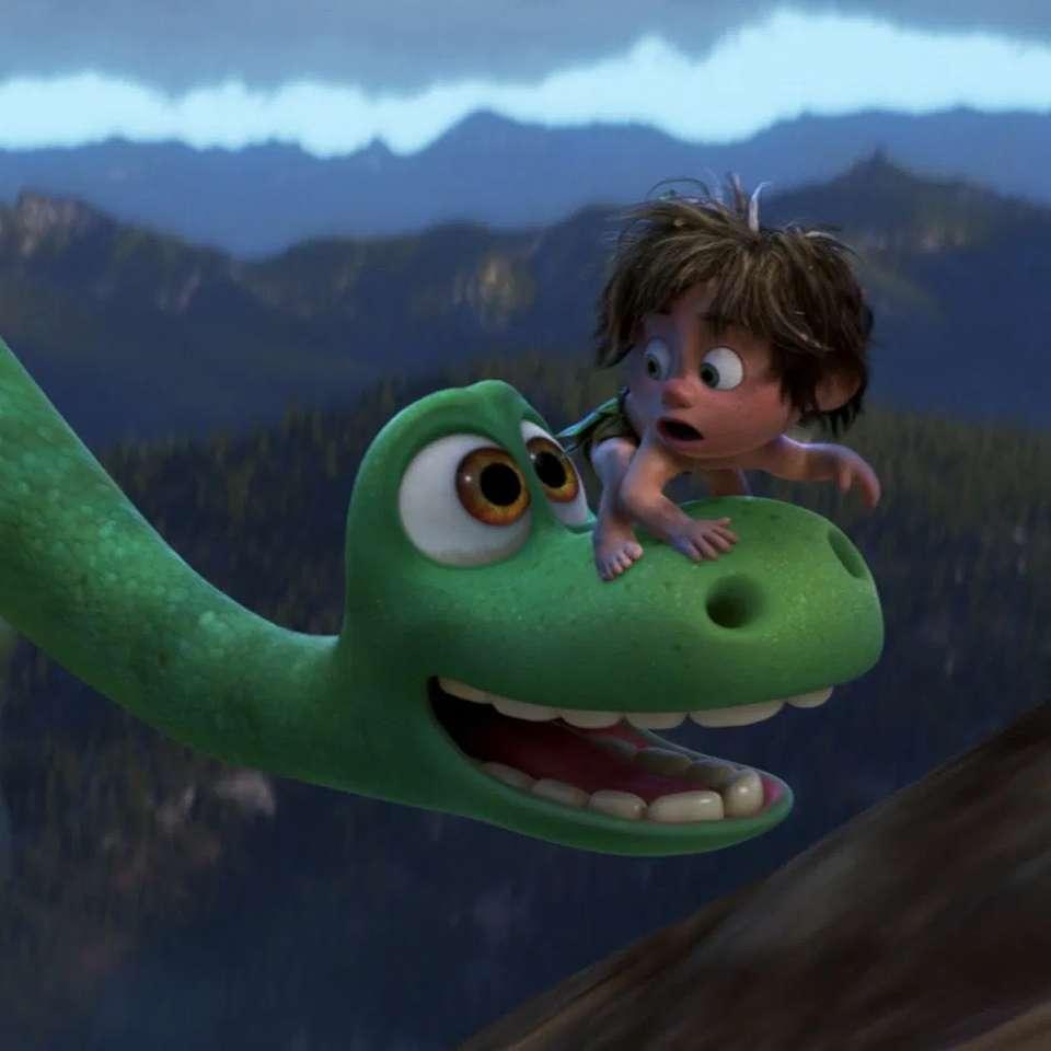 Le bon dinosaure - Le bon dinosaure et le garçon (3×3)