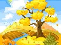 Copacul toamna