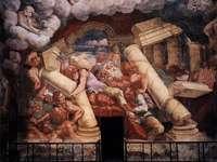 giulio romano падането на гигантите