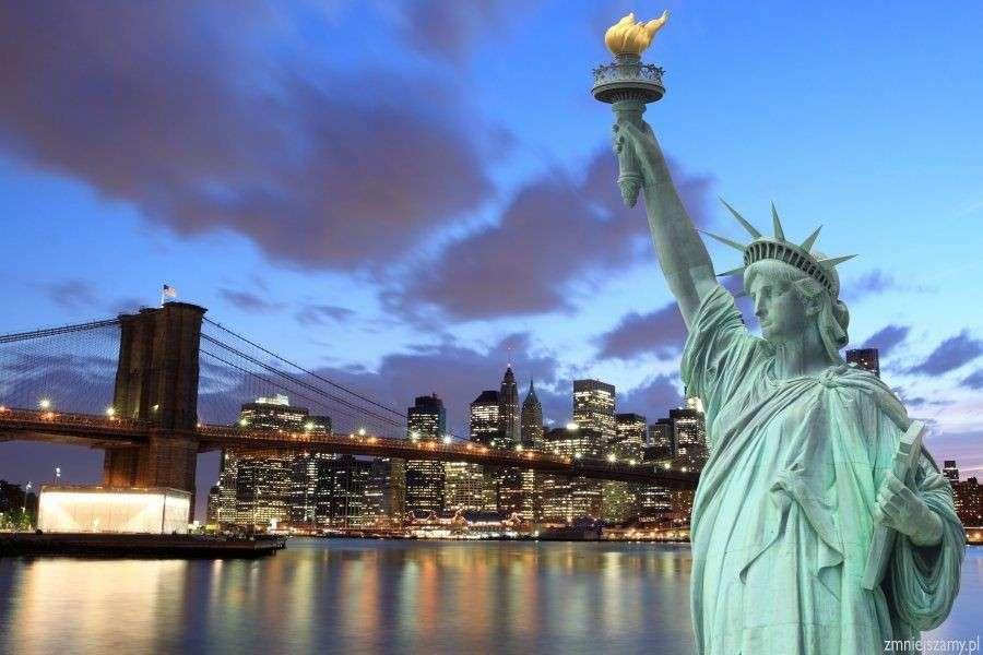 estatua de la libertad, nueva york - m (13×9)