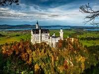 Neuschwanstein slott - Tyskland,