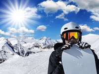 Napsugarak, snowboardozás
