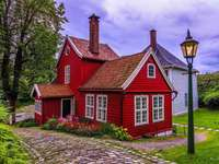 Bergen C- muzeum, skansen