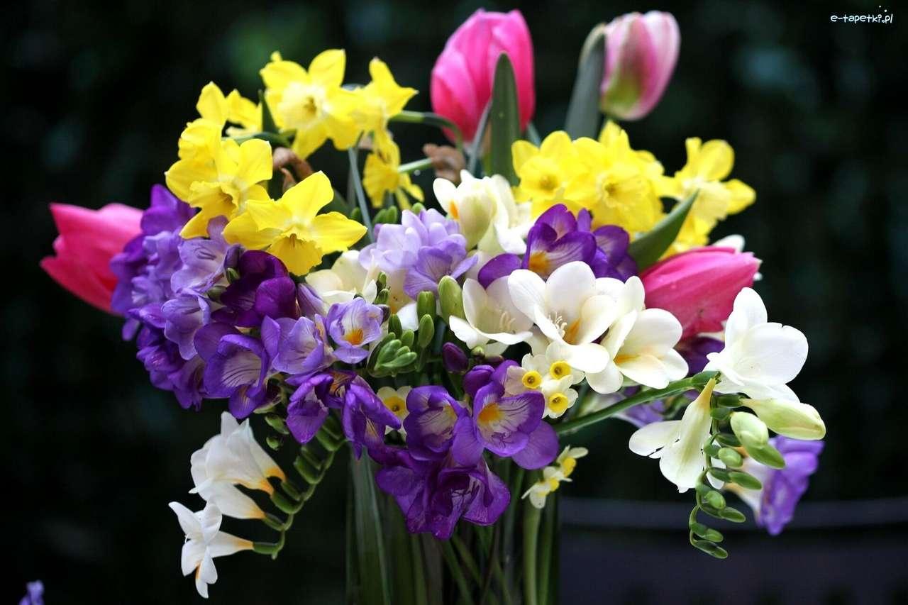 букет от цветя - м (13×9)