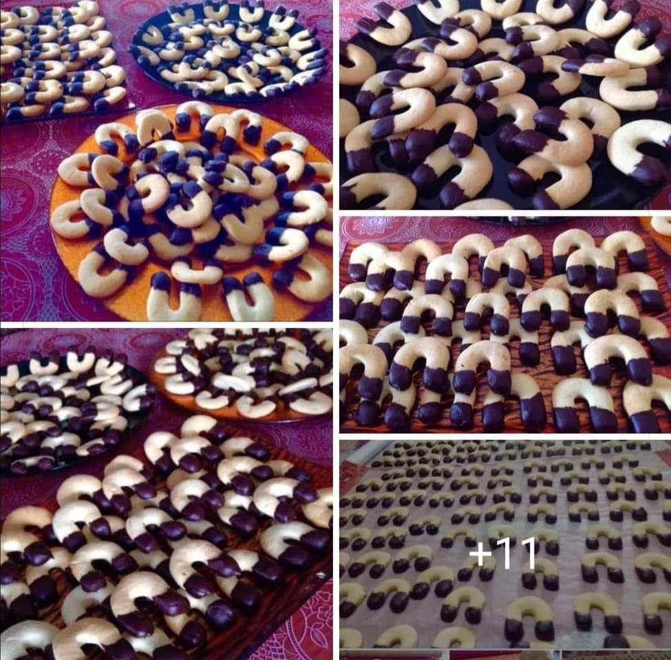 """Biscuits sablés Lucani - De délicieux biscuits sablés à la forme caractéristique du """"U"""", des biscuits porte-bonheur à déguster avec une bonne tasse de lait au petit-déjeuner ou l'après-midi avec un délicieux thé (11×11)"""