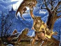 Върколакът срещу глутницата