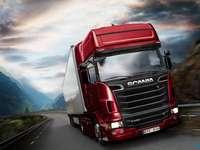 Puzzle Euro Truck Simulator