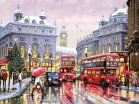 Londres na neve