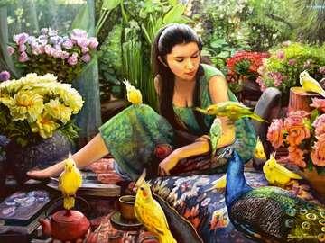 εικόνα των παπαγάλων