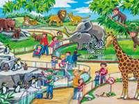 деца в зоопарка
