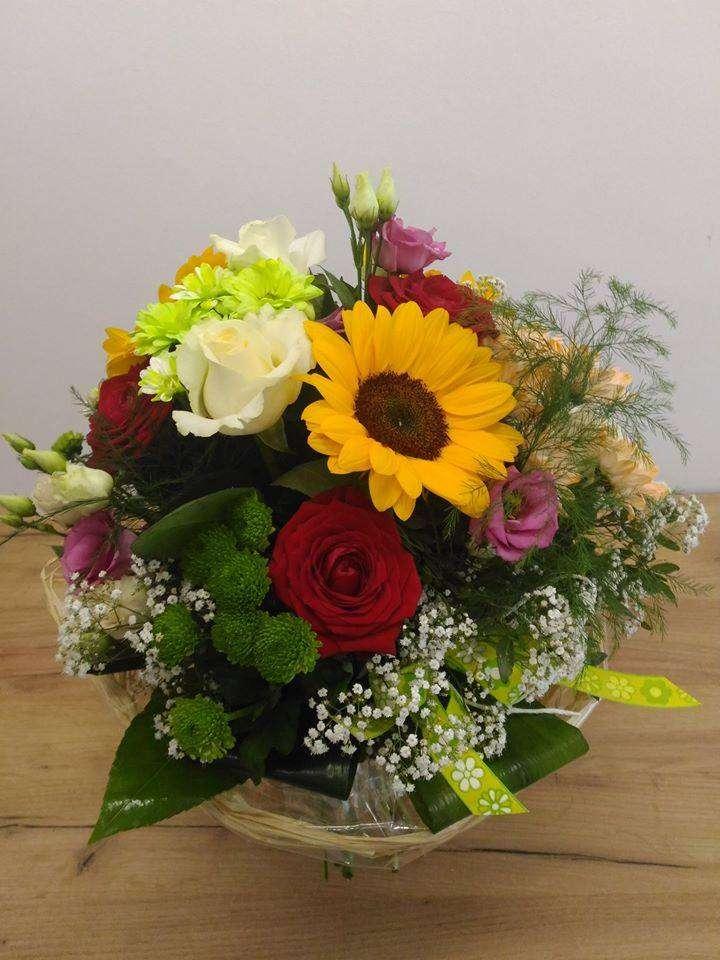 букет от цветя - м (7×10)