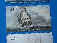 Selos postais alemães