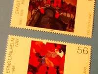 Dois selos postais alemães