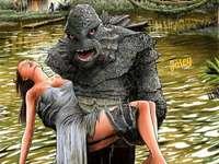 A criatura da lagoa