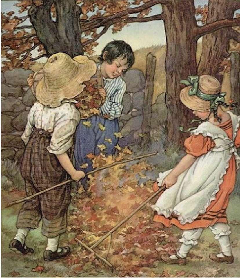 na podzim se pálí listí