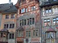 domy Švýcarsko