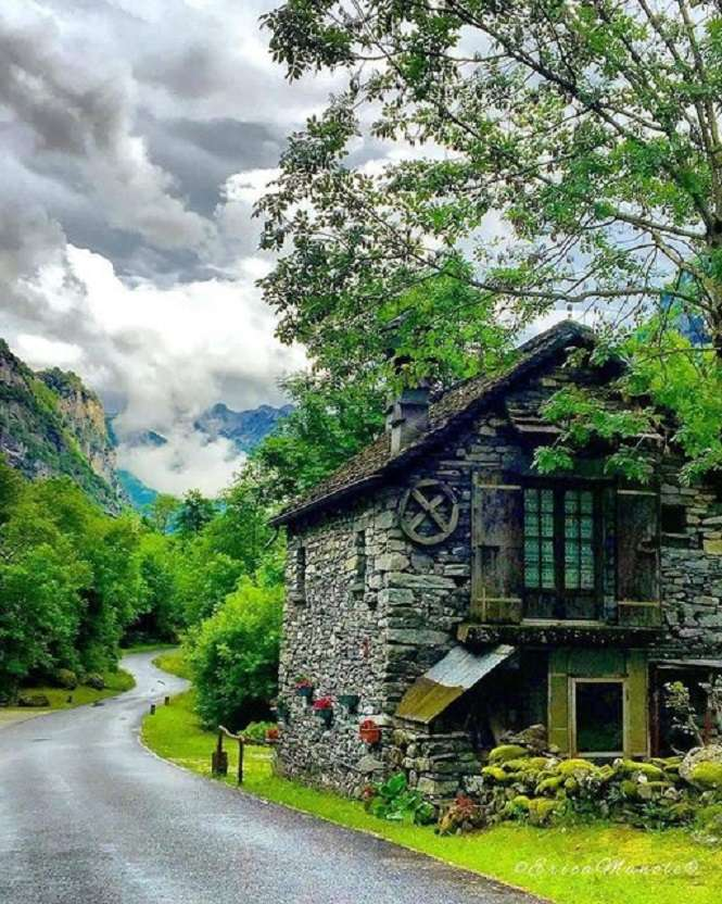 Schweiz - Landskap pussel (9×12)