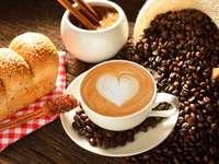 sladké rohlíky na kávu