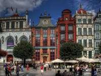 nájemní domy v Gdaňsku
