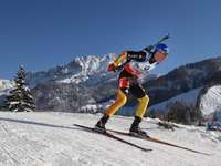sports biathlon