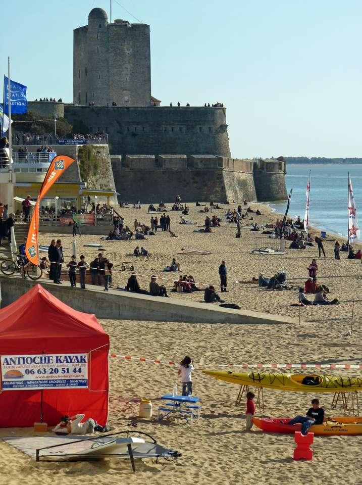 Fouras a praia - Praia Fouras em Charente Maritime (8×12)