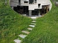 maison souterraine en Suisse