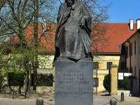Stefan Wyszyński Monument in Warsaw