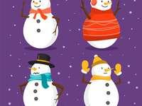 1 sneeuwpoppen
