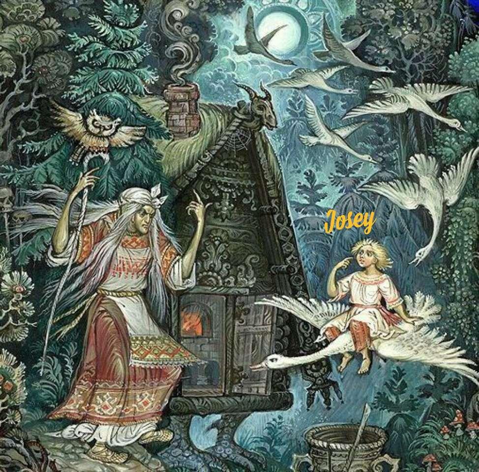 Ryska berättelsen - Forntida ryska berättelser (20×20)