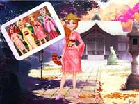 Online game for girls - Princess Kimono Dress
