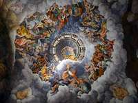 Джулио романо купол на залата на гигантите