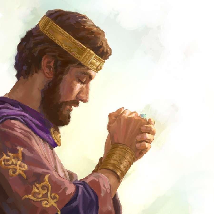 Rei salomão - Rei Salomão na corte (3×3)