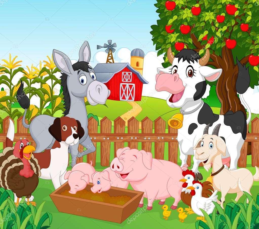 Εκτρεφόμενα ζώα - Κινούμενα ζώα εκτροφής (3×3)