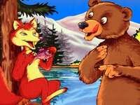 Η αλεπού και η αρκούδα