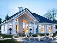 amerikai stílusú ház