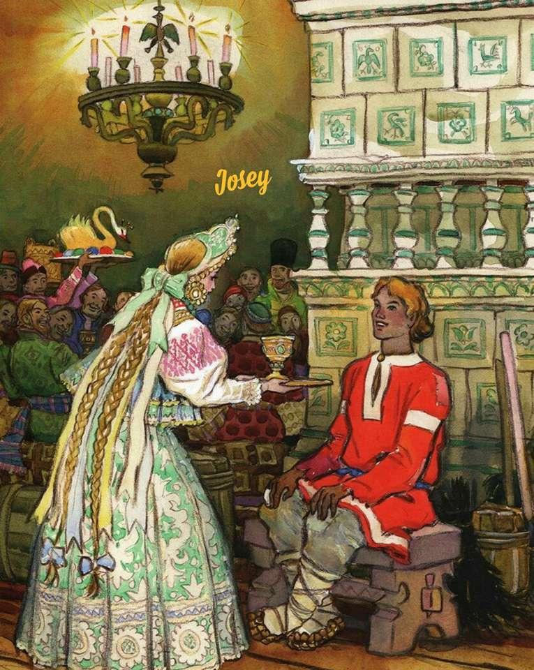 Ryska berättelsen - Forntida ryska berättelser (15×20)