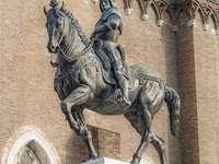 Monumento a Bartolomeo Colleoni en Venecia.