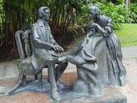 Monumento a Chopin en Singapur