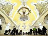 Tunnelbanestation - Moskva